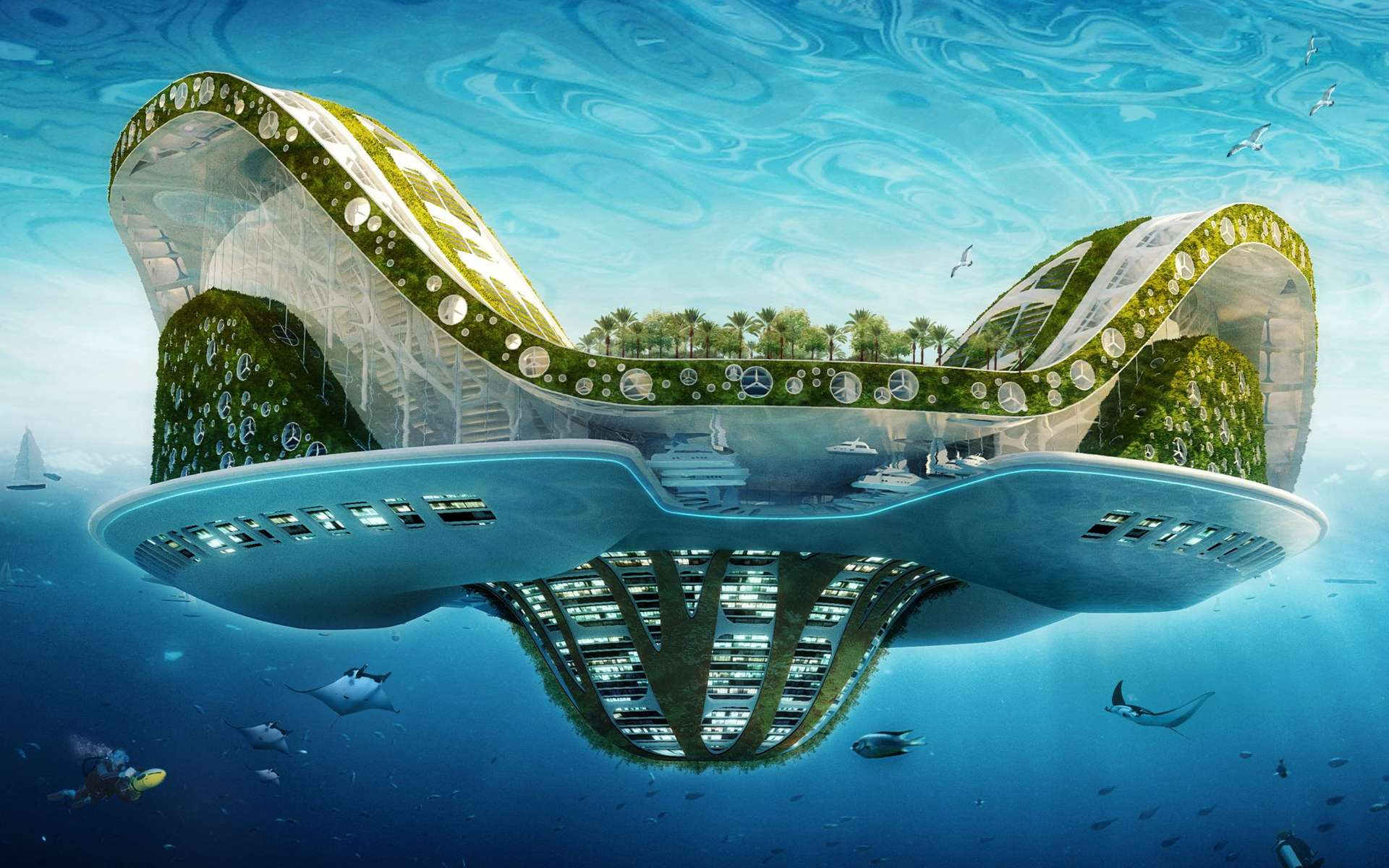 villes futuriste