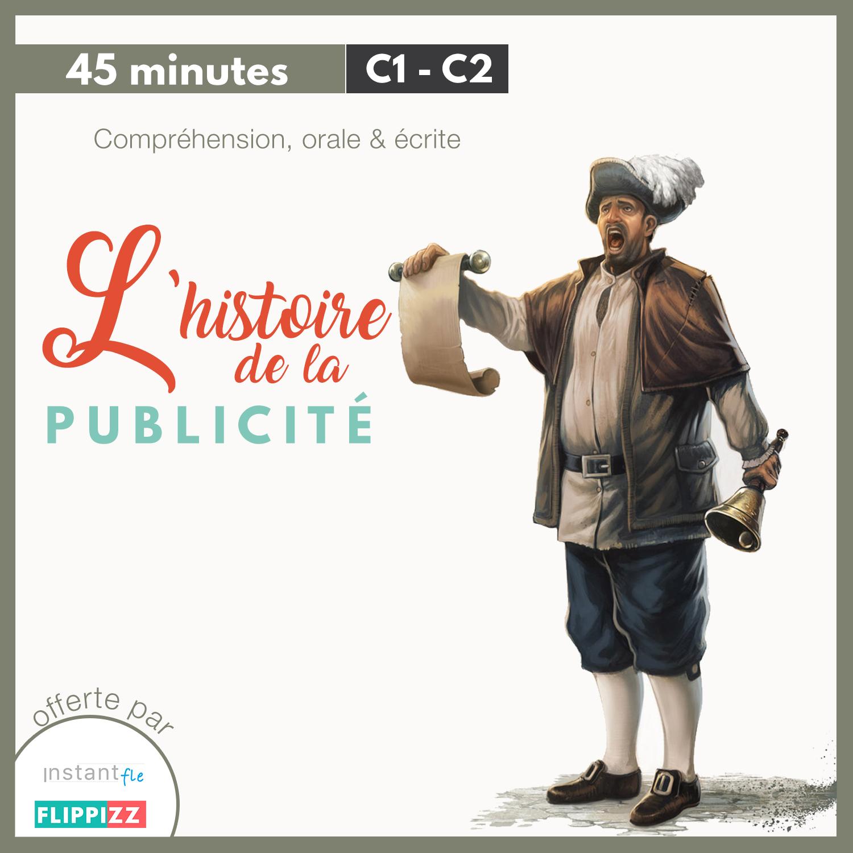 fiche pédagogique C1 C2 l'histoire de la publicité-min