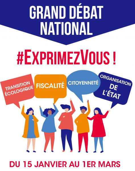 Actu : Le Grand Débat National