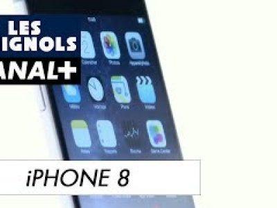 Les Guignols: Parodie de l'I-Phone 8