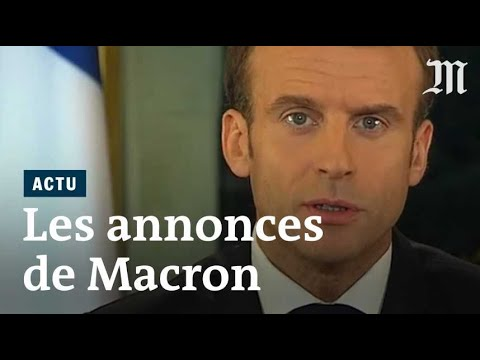 annoncesMacron