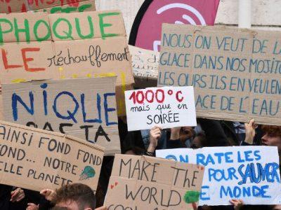 Actu : Les Marches Pour Le Climat
