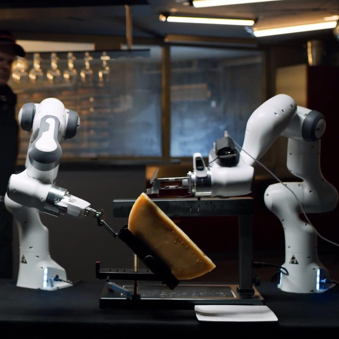 robot à raclette